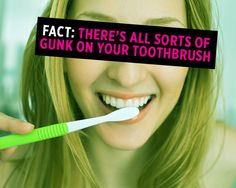 You use it morning and night (hopefully!) - take a few key steps to keep you healthy #toothbrush