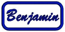 Benjamin Name free embroidery designs free downloads pes 2014