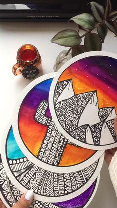 Doodle Art Drawing, Mandala Drawing, Mandala Sketch, Watercolor Mandala, Mandala Art Lesson, Mandala Artwork, Dibujos Zentangle Art, Doodle Art Designs, Art Drawings Sketches Simple