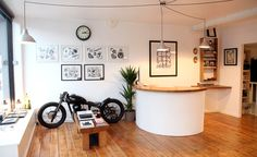 This would make a cool tattoo reception area