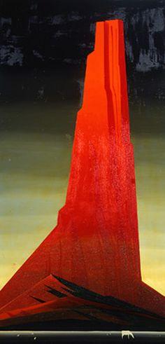 Eyvind Earle 1916-2000, Silent thunder