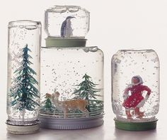 Craft of the Day: Snow Globes!