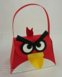 angry bird petite purse