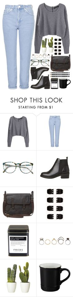 """""""La Bicicleta"""" by annaclaraalvez ❤ liked on Polyvore featuring Proenza Schouler, Topshop, White Stuff, Forever 21, FREDS at Barneys New York, Iosselliani and Le Creuset"""
