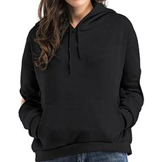 7997b0a2760 Women s Elbow Hole Fleece Hoodie Pocket Pullover Sweatshirts     Check out  the image by visiting the link.