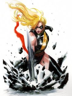 Ms. Marvel by Gabriele Dell'Otto
