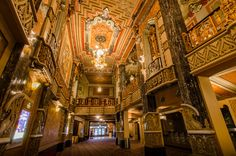 Broadway In Chicago's Oriental Theatre (1926 by George L. and Cornelius W. Rapp)  #OHC2015