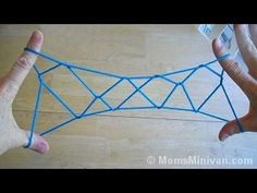 How to do Jacobs Ladder, Step by Step, with string - YouTube