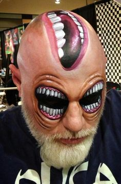 Halloween makeup ideas (maquillaje halloween special effects) Halloween Make Up, Halloween Face Makeup, Horror Make-up, Halloween Karneval, Fantasy Make Up, Fantasias Halloween, Maquillaje Halloween, Scary Makeup, Sfx Makeup