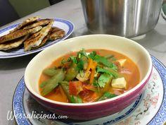 Nieuwe recept: Romige Thaise tofusoep