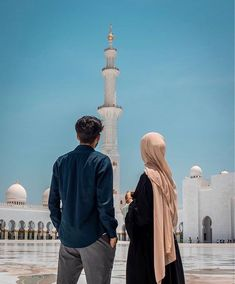 Arab Girls Hijab, Girl Hijab, Muslim Girls, Hijab Bride, Muslim Brides, Cute Muslim Couples, Muslim Couple Quotes, Cute Couples, Mecca Wallpaper