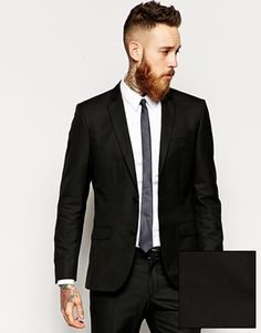 River Island Slim Suit Jacket