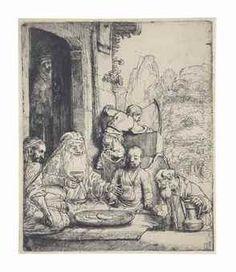 Abraham Entertaining the Angels, Rembrandt van Rijn, 1656 - Rijksmuseum Rembrandt Etchings, Rembrandt Drawings, Rembrandt Art, Philadelphia Museum Of Art, Dutch Painters, Amazing Drawings, Old Master, Gravure, Art Google