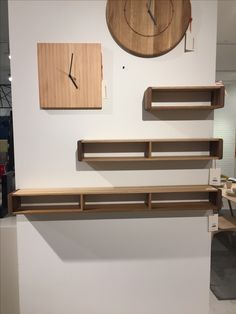 Three walnut shelves from homestolife in Singapore. Large was $79.