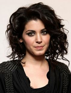Katie melua curly hair style - I like this one too.  It still has some length