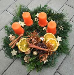 Handmade Christmas Decorations, Christmas Wreaths, Christmas Crafts, Merry Christmas, Xmas, Advent Wreath, Holiday Fun, Presents, Creative
