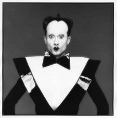 Klaus Nomi, Studio, New York February, 1980   Silver Gelatin Print Signed, titled, dated, and numbered on verso   Photograph by Michael Halsband