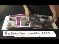 Close to My Heart Flip Flap Scrapbooking - YouTube - by Noreen Petty showing many, many ways to use flip flaps! #scrapbooking #quicktips