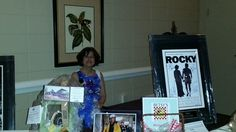 One of our wonderful Silent Auction volunteers