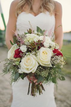 Luscious white rose bouquet. Photography By / http://brookecourtney.com, Event Planning By / http://weddingsandeventsbliss.com