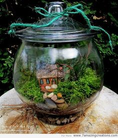 Ever wanted to run away with the fairies? Well now you don't have to - they can come to you! Here are 14 inventive ideas to make your very own fairy garden at home.