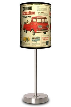 LAMP-IN-A-BOX Ford Econoline Ad Lamp