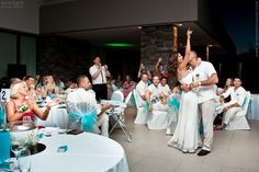 InterContinental Fiji Golf Resort wedding reception photography
