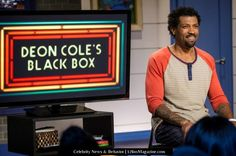 """Funniest Moments on """"Deon Cole's Black Box"""" from #TBS' new show """"Deon Cole's Black Box"""" & tune in tonight @ 10:30pm ET/PT for a new episode! #17linxMagazine"""