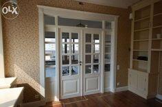 Drzwi wewnętrzne dwuskrzydłowe drewniane WhiteDoor Warszawa - image 1