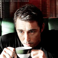 Lee Pace as Ned the Pie-Maker on Pushing Daisies.