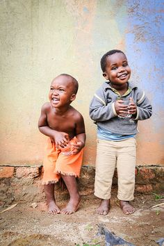 African Childhood: Beauty in Simplicity
