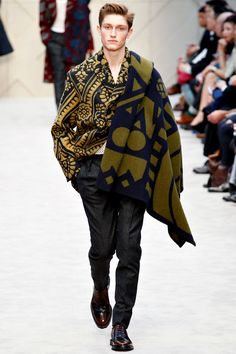 Burberry Prorsum | Fall 2014 Menswear Collection