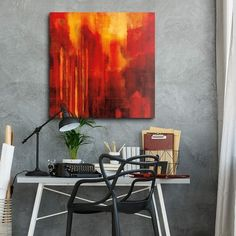 130 Red Abstract Art Ideas Red Abstract Art Abstract Art