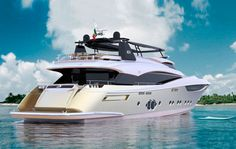 Monte Carlo Yachts 105 launched in Venice