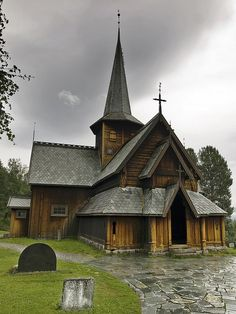 Norwegian church Looks like the one in Moorhead, MN  at the Hjemkomst
