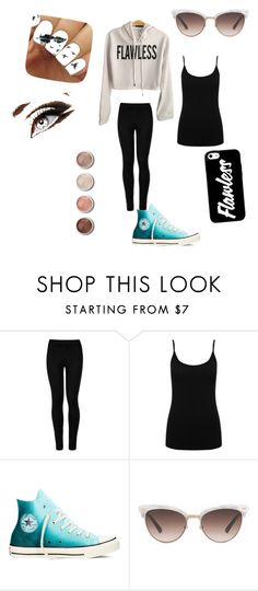 """COOL"" by baslockcl ❤ liked on Polyvore featuring Wolford, M&Co, Converse, Gucci and Terre Mère"