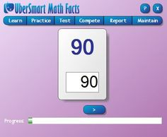 UberSmart Math Facts Review