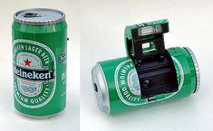 Ginfax Can Camera (Heineken)