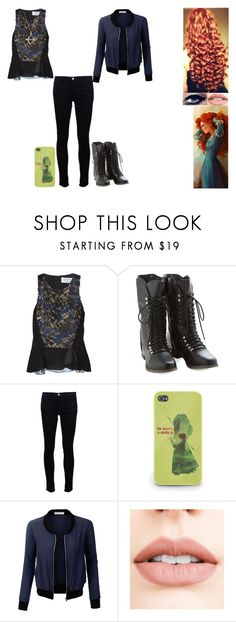 """""""Disney Music Challenge: Day 13"""" by ilovecats-886 ❤ liked on Polyvore featuring Prabal Gurung, J Brand, LE3NO, Jouer and Sydney Evan"""