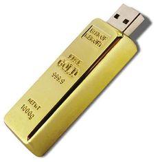 Pen Drive - Barra de Ouro - Pen Drives
