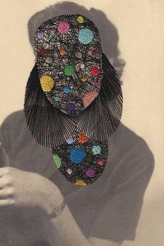 CELESTIAL Photo embroidery by Maurizio Anzeri