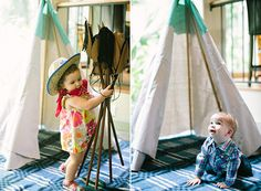 Cowboys and indians 1st birthday party | 100 Layer Cakelet