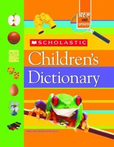 Scholastic Children's Dictionary by Scholastic, Inc. Used Books Online, Inventions, Free Shipping, Play, Country, Words, Children, Fun, Kids