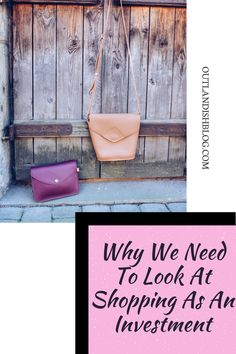 Why We Need To Look At Shopping As An Investment – Outlandish We Need, New Outfits, Spotlight, Mindset, The Creator, Alcoholic Drinks, Investing, That Look, Therapy