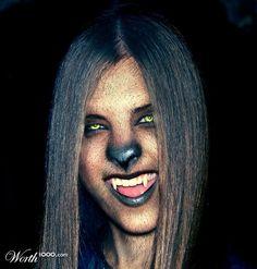 werewolf makeup - Google Search