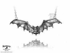Alchemy Gothic Gothic Bat necklace - I want