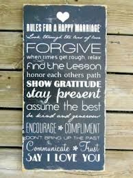 Wood Sign Marriage Rules Typography Wall Art by Marriage Relationship, Marriage And Family, Happy Marriage, Marriage Advice, Marriage Sayings, Love My Husband, My Love, Just In Case, Just For You