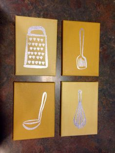 decorate with kitchen utensils - - Yahoo Image Search Results