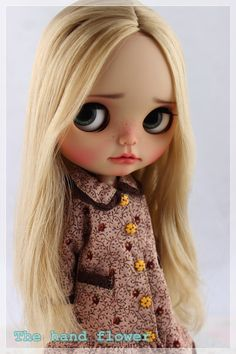 OOAK Custom Original Takara Blythe doll Base Doll: Star Dancer.