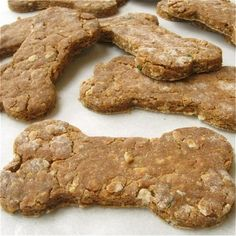 Whole Grain Dog Biscuits: step-by-step photos and tips.